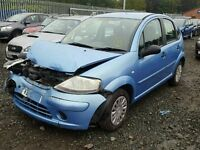 BREAKING CITROEN C3 DESIRE 53k 5 DOOR 2005 05 1.4 BLUE PETROL MANUAL