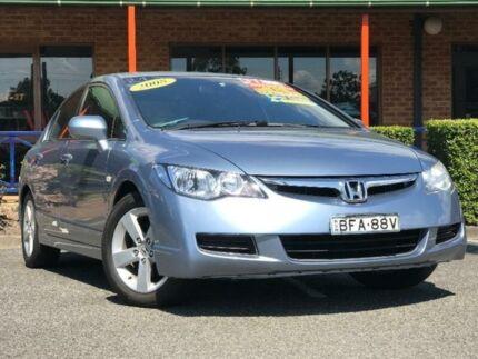 2008 Honda Civic 8th Gen VTi-L Light Blue Automatic Sedan