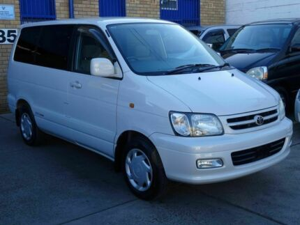 2000 Toyota Spacia NOAH IMPORT White 4 Speed Automatic Wagon Caringbah Sutherland Area Preview