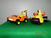 Tow truck and roller - Fisher Price
