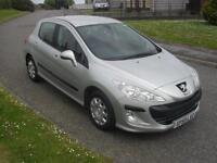 Peugeot 308 1.4 VTi ( 95bhp ) S 2009 ONLY 50000Mls MOT 13/11/16 Very Clean Tidy