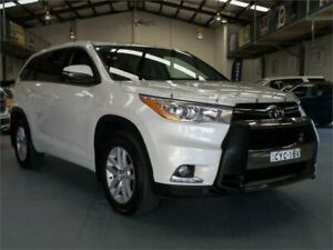 2015 Toyota Kluger GSU55R GX (4x4) Crystal White Pearl 6 Speed Automatic Wagon Seven Hills Blacktown Area Preview