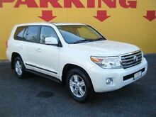 2013 Toyota Landcruiser VDJ200R MY13 Sahara White 6 Speed Sports Automatic Wagon Winnellie Darwin City Preview