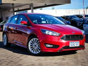 2017 Ford Focus LZ Sport Red 6 Speed Automatic Hatchback Morley Bayswater Area Preview