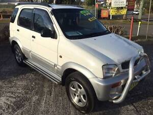 1998 Daihatsu Terios MAN, 4X4 Jewells Lake Macquarie Area Preview