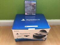 PS4 VR HEADSET & CAMERA BUNDLE and one Game(Skyrim)