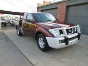 2008 Nissan Navara D40 RX (4x4) Burgundy 6 Speed Manual Cab Chassis Gilles Plains Port Adelaide Area Preview