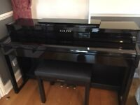 Yamaha Clavinova Digital Piano - CLP470PE in Polished Ebony finish