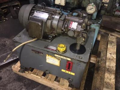 3 Hp Toyo-oki Hydraulic Unit Pump Hpp-vc2v-f14a3-a 220v Mfgd 1997.11 Used