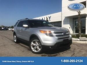 2014 Ford Explorer Limited, Moonroof, 4WD, Nav!!!