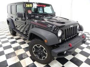 2015 Jeep Wrangler Unlimited Rubicon - Heated Leather, Nav, Free