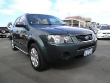 2006 Ford Territory SY SR AWD Harvest Green 6 Speed Sports Automatic Wagon Heatherton Kingston Area Preview