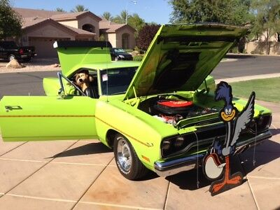 1970 Plymouth Road Runner Coupe 1970 Plymouth Roadrunner