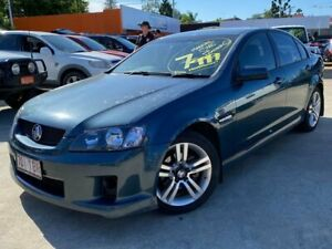 2008 Holden Commodore VE MY09 SV6 Green 6 Speed Manual Sedan Greenslopes Brisbane South West Preview