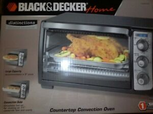 SEALED/NEW Black & Decker Convection Toaster Oven