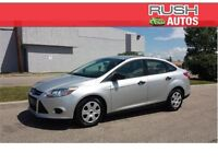 2013 Ford Focus S FWD • LOW, LOW MILEAGE, 6-SPEED AUTO TRANS