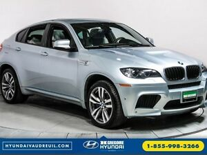 2014 BMW X6 M AWD Power 550HP GPS Panoramique Cuir Bluetooth HiD