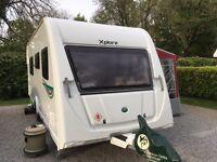 Xplore 574 touring caravan