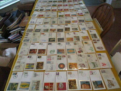 BELGIUM FDC COLLECTION, ALL W/CACHET