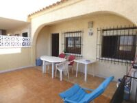 Costa blaca, spain, la marina 2 bed bungalow