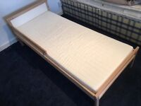 IKEA child's bed. Great mattress.