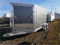 Snowmobile Enclosed 7X14 Trailer