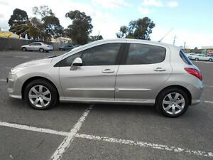 2009 Peugeot 308 XSE HDI Grey 6 Speed Automatic Hatchback Maidstone Maribyrnong Area Preview
