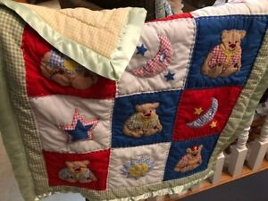 Hand stitched Baby or Child Quilt