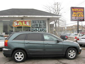 **2004 Chrysler Pacifica A.W.D.**  Certified & E-tested2004
