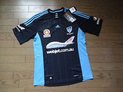 Sydney FC 100% Official Australia Soccer Jersey M 2012/13 Away BNWT A-League image