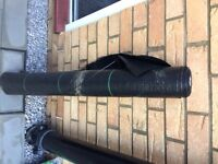 2m x 18m/100g Membrane Landscape Fabric Heavy Duty Weed Control Cover