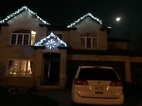 Looking for roofer to put up our christmas lights-$50