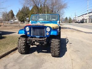 1977 Jeep CJ Cabriolet
