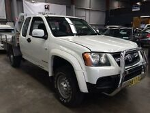 2009 Holden Colorado RC MY09 LX (4x2) White 5 Speed Manual Spacecab Macquarie Hills Lake Macquarie Area Preview