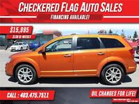 2011 Dodge Journey R/T W/ All Wheel Drive-Heated Leather Seats