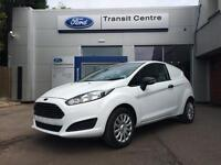 NEW Ford Fiesta 1.5TDCi 75PS Base in Frozen White - Onsite