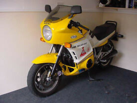 COLLECTORS ALL ORIGINAL 1988 SUZUKI GSX1100 EFG UNDER 4000 MILES FROM NEW