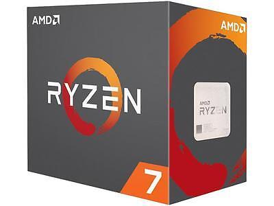 New AMD RYZEN 7 1700X 8-Core 3.4 GHz  AM4 Skt 95W YD170XBCAEWOF Desktop CPU