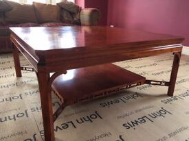 Large Yew Coffee Table