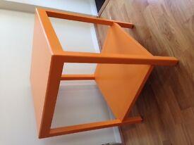 Side table (orange)