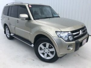 2010 Mitsubishi Pajero NT MY10 VR-X Cool Silver 5 Speed Sports Automatic Wagon Mundingburra Townsville City Preview