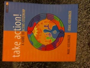 Take Action A Guide to Active Citizenship Paperback Like new London Ontario image 1