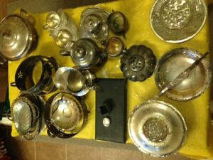 Antique Silverware - many pieces, sold as lot or individually