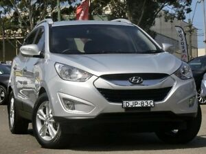 2011 Hyundai ix35 LM MY11 Elite AWD Silver 6 Speed Sports Automatic Wagon Condell Park Bankstown Area Preview