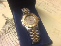 Lovely Gold Plated And Stainless Steel Authentic Tag Heuer Watch For Only £575