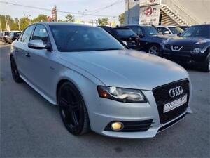 2011 Audi S4 Supercharged, 4X4, CUIR, TOIT ** 1 AN DE GARANTIE *