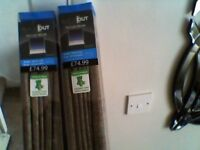 ROMAN BLACK OUT BLINDS (BRAND NEW)