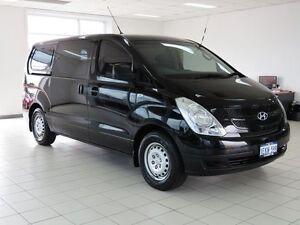 2009 Hyundai iLOAD TQ Crew Black 5 Speed Manual Van Morley Bayswater Area Preview