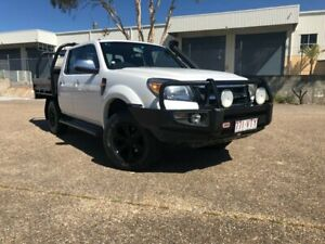2010 Ford Ranger PK XLT Crew Cab White 5 Speed Automatic Utility Woodridge Logan Area Preview