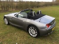 """BMW Z4 2.0i 2006 ROADSTER/CONVERTIBLE SHOWROOM CONDITION 18"""" M sport alloys"""